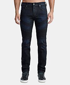 True Religion Men's Classic Rocco Moto Jeans