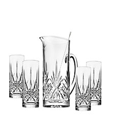 Godinger Dublin 6-Pc. Tom Collins Beverage Set