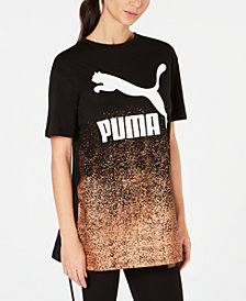 Puma Kiss Artica Cotton Metallic Long T-Shirt