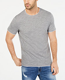 I.N.C. Men's Heathered Tipped T-Shirt, Created for Macy's