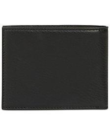 Armani Exchange Mens Tri-Fold Wallet