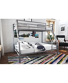 Novogratz Maxwell Metal Bunk Bed