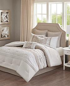 510 Design Ramsey King Embroidered 8-Piece Comforter Set