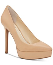 e813051d110 Jessica Simpson Lael Pointed-Toe Platform Pumps