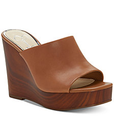 Jessica Simpson Shantelle Slide Wedge Sandals