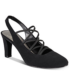 Impo Venture Stretch Slingback Pumps