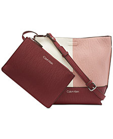 Calvin Klein Reversible Novelty Messenger