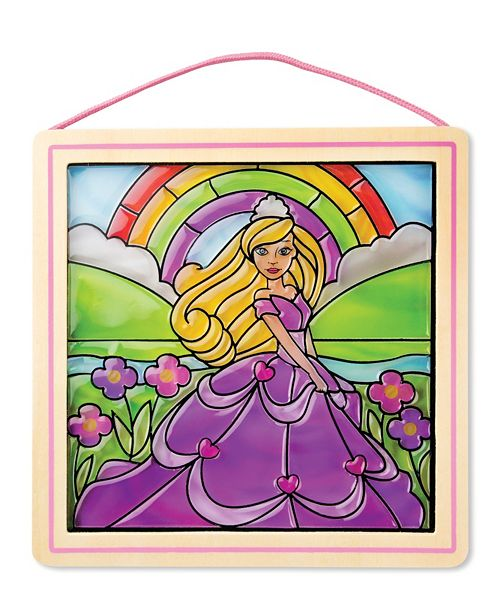 Melissa and Doug Stained Glass Made Easy - Princess