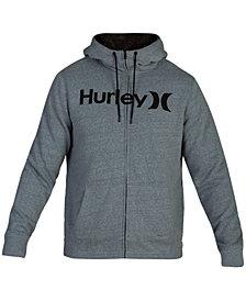 Hurley Men's Bayside Sherpa-Lined Zip-Front Hoodie