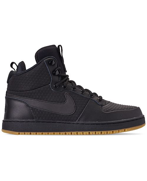 new product 4a2df 9be7b ... Nike Mens Ebernon Mid Winter Casual Sneakers from Finish ...