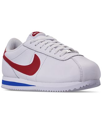 Nike Men S Cortez Basic Leather Og Casual Sneakers From Finish Line