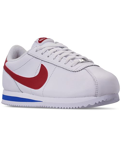 buy online 62241 74754 ... Nike Men s Cortez Basic Leather OG Casual Sneakers from Finish Line ...