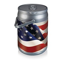 Oniva™ by Picnic Time American Flag Design Can Cooler