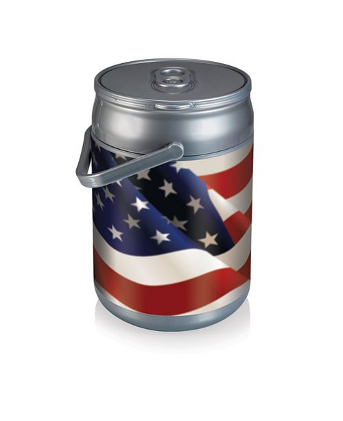 Picnic Time Oniva™ by American Flag Design Can Cooler