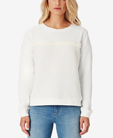 Jessica Simpson Juniors' Melody Fleece Textured Top