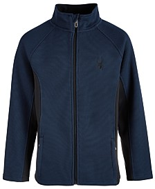 Spyder Big Boys Constant Full-Zip Sweater