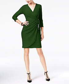I.N.C. Wrap Dress, Created for Macy's