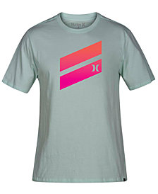 Hurley Men's Icon Slash Gradient Graphic T-Shirt