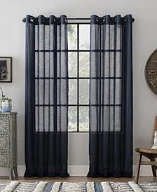 """Textured Linen 52"""" x 95"""" Curtain"""