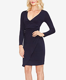 Vince Camuto Faux-Wrap Dress