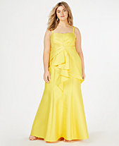 Yellow Plus Size Dresses Macys