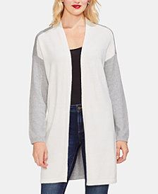 Vince Camuto Colorblocked Cardigan Sweater