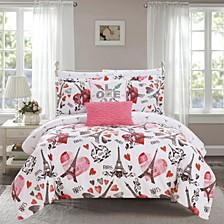 Le Marias 9 Piece Queen Bed In a Bag Comforter Set