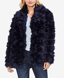 Vince Camuto Shaggy Fur Coat