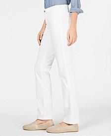 Lexington Straight-Leg Braid-Stripe Jeans, Created for Macy's
