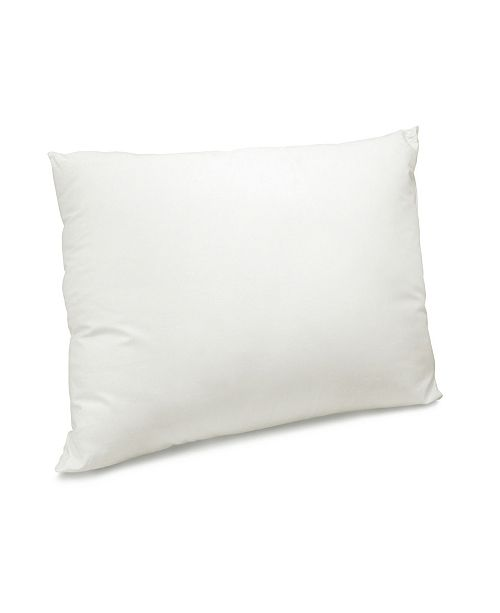 SensorGel CLOSEOUT! MaryJane's King Home 300 Thread Count Organic Cotton Pillow with Recycled Polyester Blend
