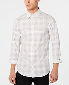 G-Star RAW Men's Geometric Shirt, Created for Macy's