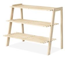 Whitmor 4-Tier Wooden Shoe Rack