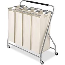 Easy-Lift Quad Laundry Sorter