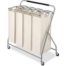 Whitmor Easy-Lift Quad Laundry Sorter
