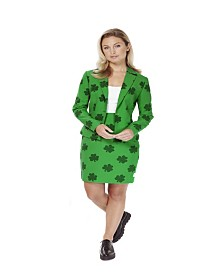 OppoSuits Women's St. Patrick's Girl St. Patrick's Day Suit