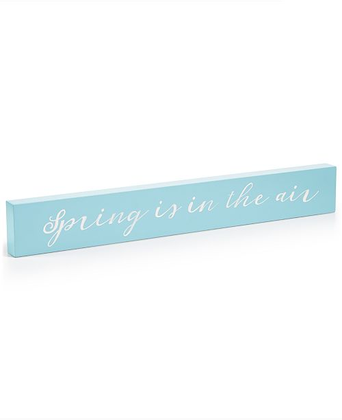 Martha Stewart Collection CLOSEOUT! Spring Is In The Air Plaque, Created for Macy's