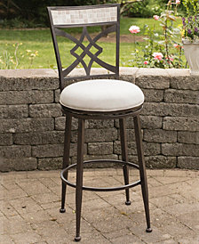 Indoor / Outdoor Halstead Swivel Counter Stool