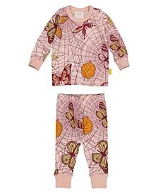 Organic Cotton Baby Longsleeve Pajamas Unisex