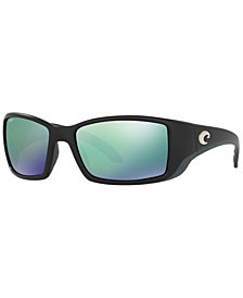 Costa Del Mar Polarized Sunglasses, BLACKFINP