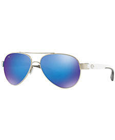 Costa Del Mar Polarized Sunglasses, CDM LORETO 57
