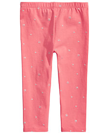 First Impressions Baby Girls Seashells Leggings, Created for Macy's