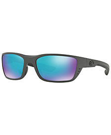 Costa Del Mar Polarized Sunglasses, WHITETIP 58