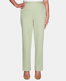 Alfred Dunner Petite Greenwich Hills Pull-On Pants
