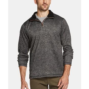 Weatherproof Vintage 1/4 Zip Men's Sweater Pullover