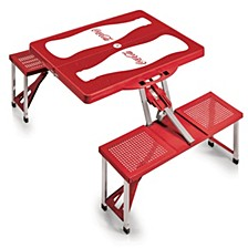 Oniva® by Coca-Cola Picnic Table Portable Folding Table with Seats