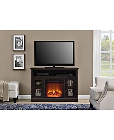 Ameriwood Home Tacoma Electric Fireplace Tv Console For Tvs Up To 50 Inches