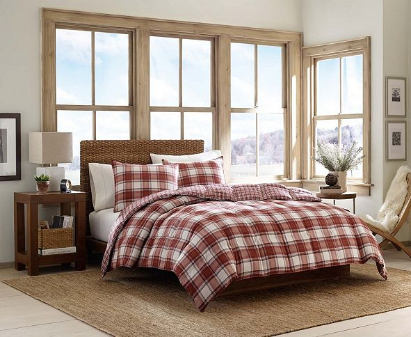 Eddie Bauer Edgewood King Duvet Cover Set