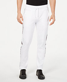 HUGO Men's Side-Stripe Drawstring Pants