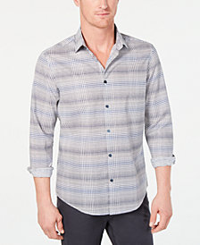Alfani Men's Cross Hatch Shirt, Created for Macy's