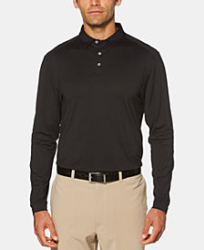 PGA TOUR Men's Stretch Long-Sleeve Golf Polo
